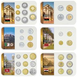 Lot 6 séries Afrique du Nord