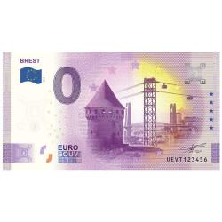 Billet Souvenir 0 Euro - Brest