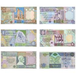 6 Billets Libye 2002