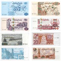 Lot 8 Billets Algérie