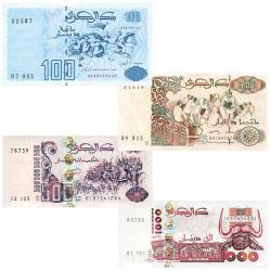 4 Billets Algérie 1992-1998