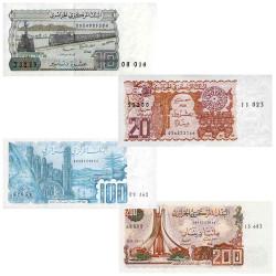 4 Billets Algérie 1982-1983