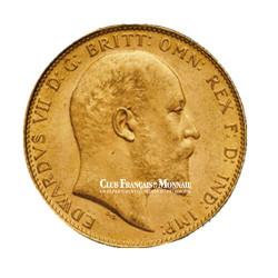 Souverain Or Edward VII (1841-1910)
