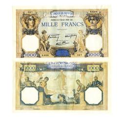 Billet de 1 000 Francs Mercure