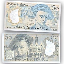 BILLET 50 Francs Quentin de la Tour