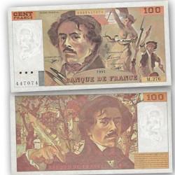 BILLET 100 Francs Delacroix