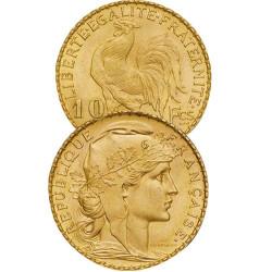 1908 - 10 Francs Or - Marianne IIIe République