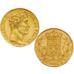 1827A - 20 Francs Or Charles X