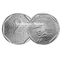 1993 - 2 Francs Jean Moulin
