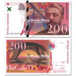 Billet 200 Francs Eiffel Neuf