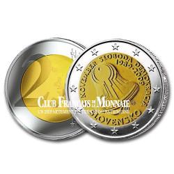 2009 - Slovaquie - 2 Euros - Révolution de Velours
