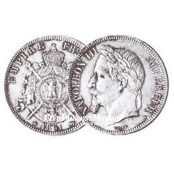 5 FRANCS ARGENT - NAPOLEON III TETE LAUREE