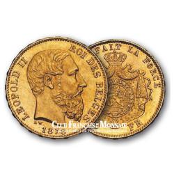 20 Francs Or - Léopold II - Belgique 1816-1923