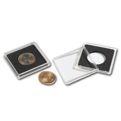 Capsules carrées 26 mm (2 Euros)