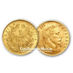 5 Francs Or - Napoléon III