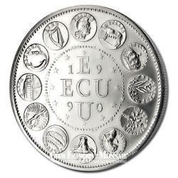 1990- Euro/Ecu - Cupronickel