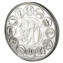 1993- Euro/Ecu- Cupronickel Avers