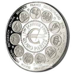 1999- Naissance officielle de l'Euro- Cupronickel - Avers