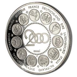 2000- Naissance de l'Euro- Cupronickel - Avers