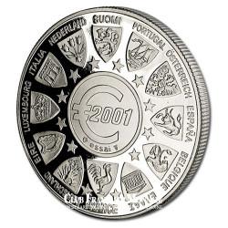 2001- Euro/Ecu- Cupronickel - Avers