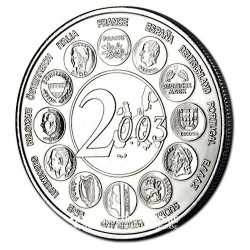 2003- Fin de l'europe des 15 (1995-2003)- Cupronickel