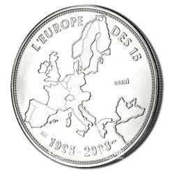 2003- Fin de l'europe des 15 (1995-2003)- Cupronickel - Revers