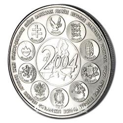 2004- L'Europe des 25- Cupronickel - Avers