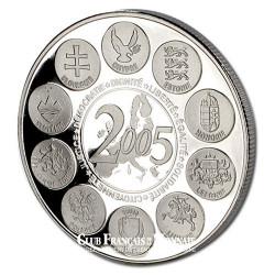 2005- Fin de l'europe des 15 (1995-2003)- Cupronickel - Avers