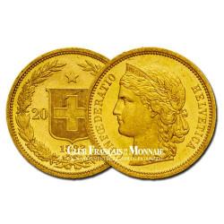 20 Francs Or Suisse Confédération