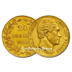 20 Francs Or Belgique Léopold 1er (1790-1865)