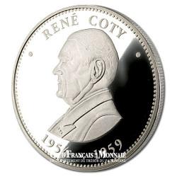 PRESIDENT - René Coty