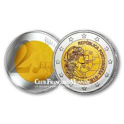 2 Euro 100 ans de la République portugaise - Portugal 2010
