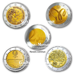 Lot de 4 x 2€ commémoratives - Portugal