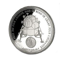 Le Premier Pas sur la Lune - 21 juillet 1969 Revers