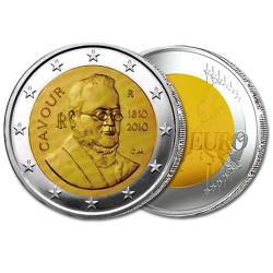 2€ Comte de Cavour - Italie 2010