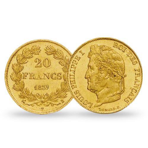 20 Francs Or Louis-Philippe 1er Tête Laurée 1841 A
